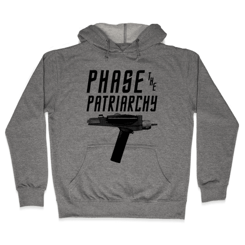 Phase The Patriarchy Hooded Sweatshirt
