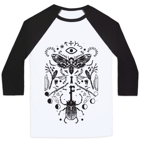Occult Musings Baseball Tee