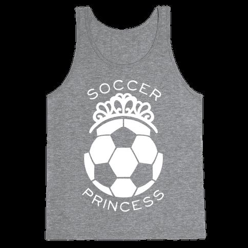 Soccer Princess Tank Top