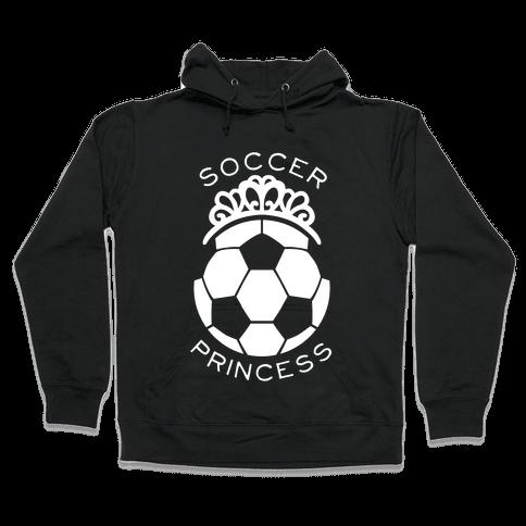 Soccer Princess Hooded Sweatshirt