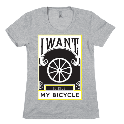 My Bicycle Womens T-Shirt