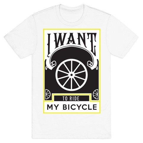 My Bicycle Mens T-Shirt