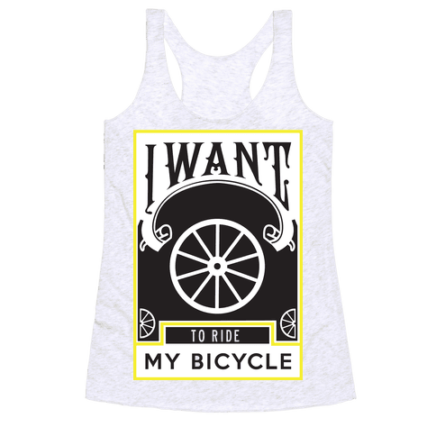 My Bicycle Racerback Tank Top