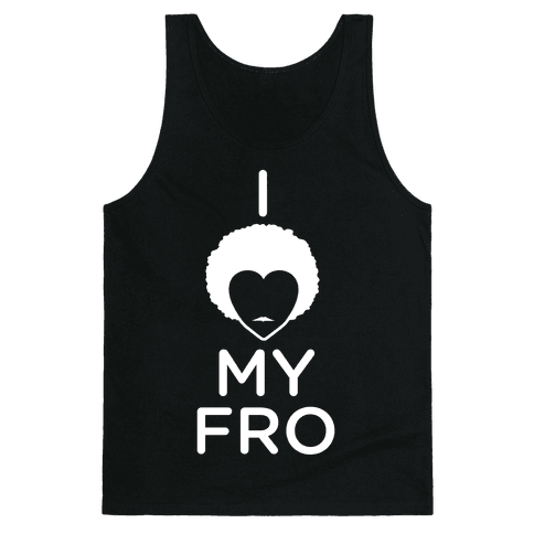 I Heart My Fro Tank Top