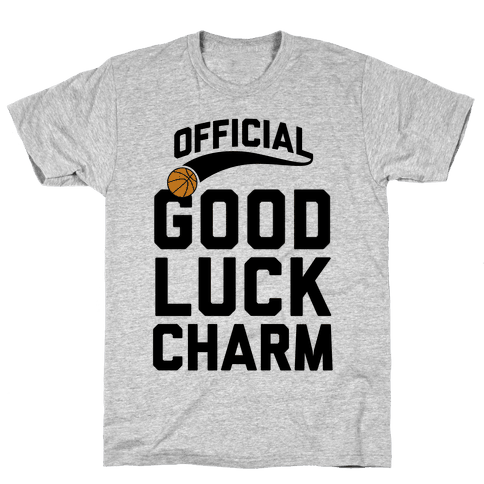 Basketball Good Luck Charm Mens T-Shirt