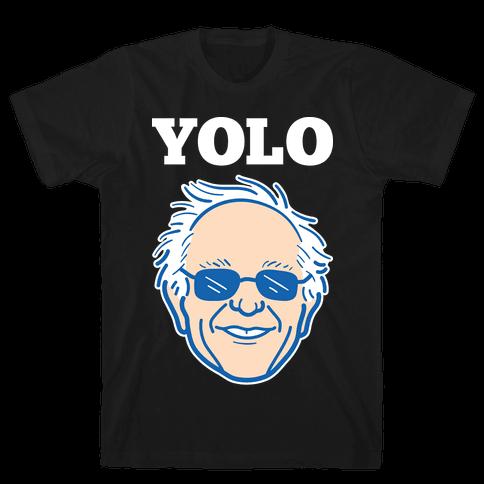 Bernie YOLO Mens T-Shirt