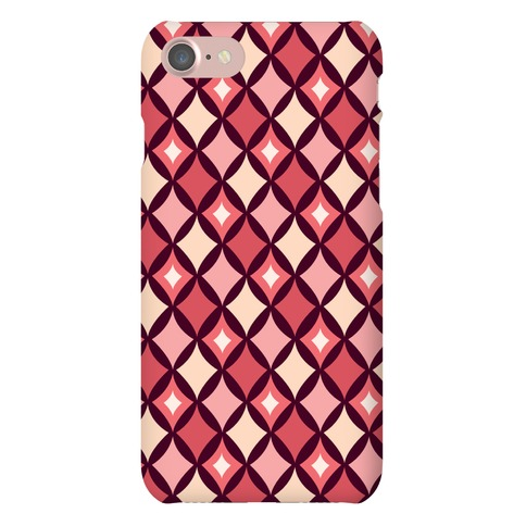 Diamond Pattern Case (Red) Phone Case