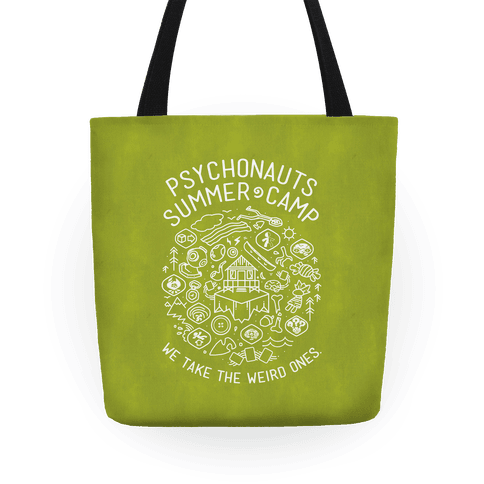 Psychonauts Summer Camp Tote Tote