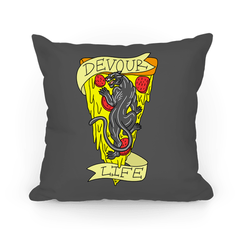 Devour Life Pillow