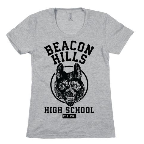 Beacon Hills High School T-Shirt   LookHUMAN