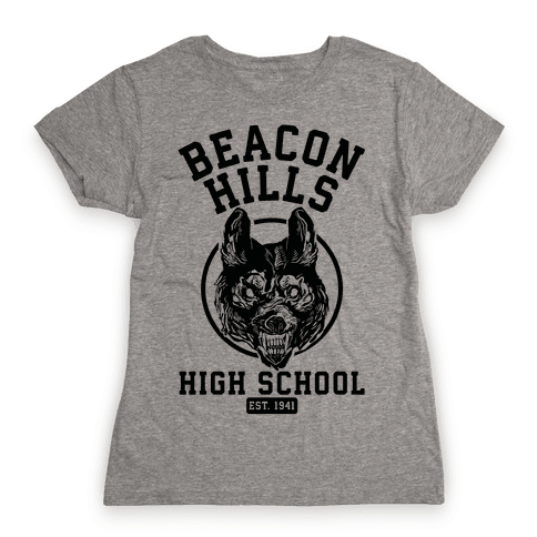 Beacon Hills High School Womens T-Shirt
