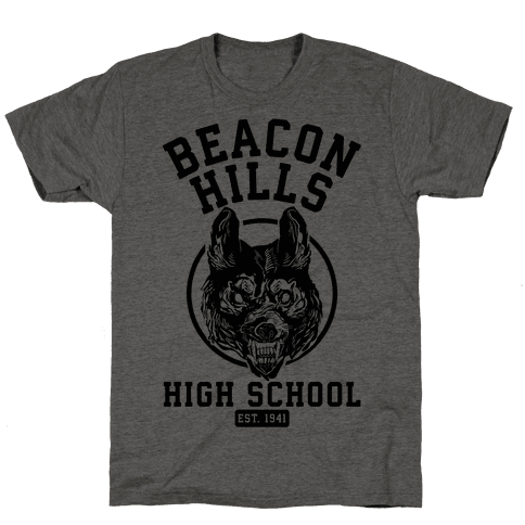 Beacon Hills High School Mens T-Shirt
