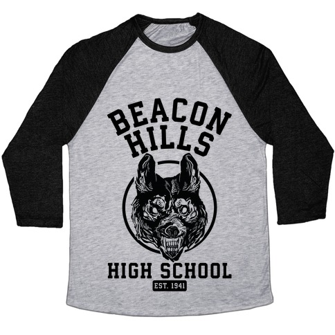 Beacon Hills High School Baseball Tee