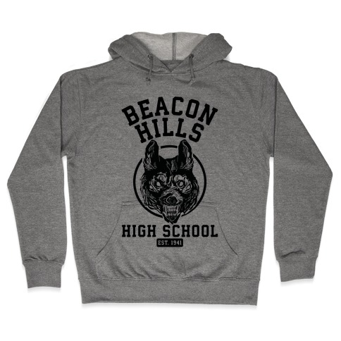 Beacon Hills High School Hooded Sweatshirt