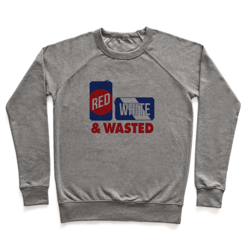 Red, White & Wasted Pullover