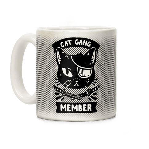 Cat Gang Member Coffee Mug