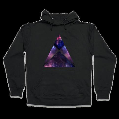 Galaxy Sign Hooded Sweatshirt