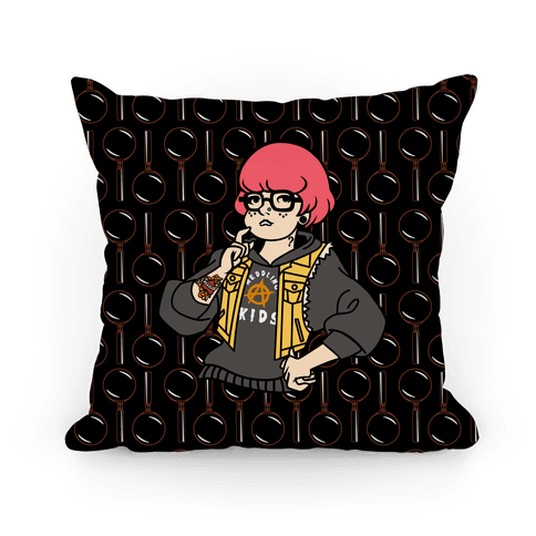 Punk Velma Parody Pillow