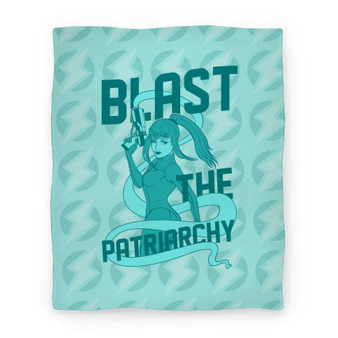 Blast The Patriarchy Blanket
