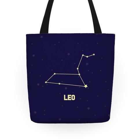 Leo Horoscope Sign Tote