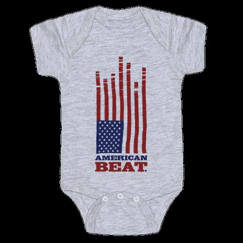 American Beat Baby Onesy