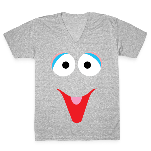 The Bird Puppet V-Neck Tee Shirt