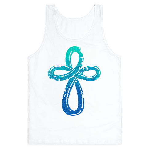 Infinity Cross Tank Top