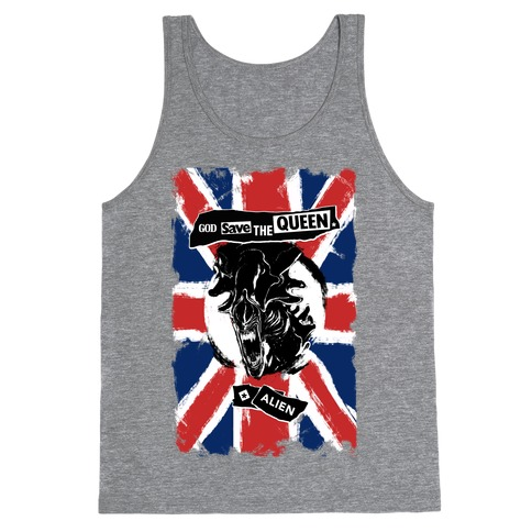 God Save the Queen (Alien) Tank Top