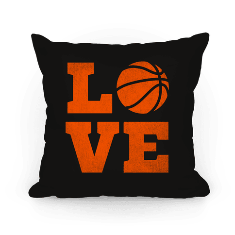 Love Basketball Pillow Pillow