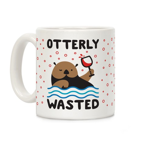 Otterly Wasted Coffee Mug