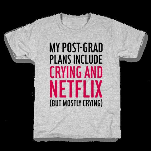 My Post Grad Plans Kids T-Shirt
