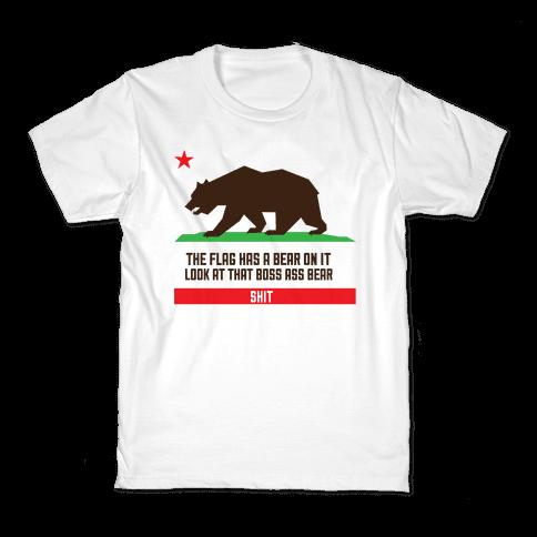 Boss Bear Kids T-Shirt