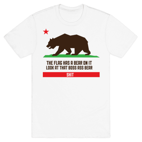 Boss Bear Mens T-Shirt