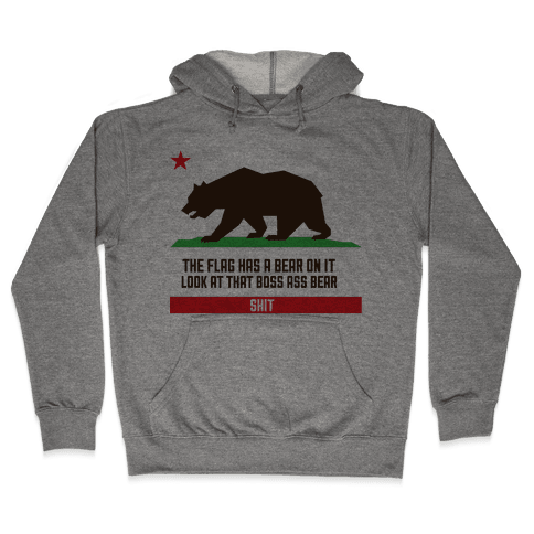 Boss Bear Hooded Sweatshirt