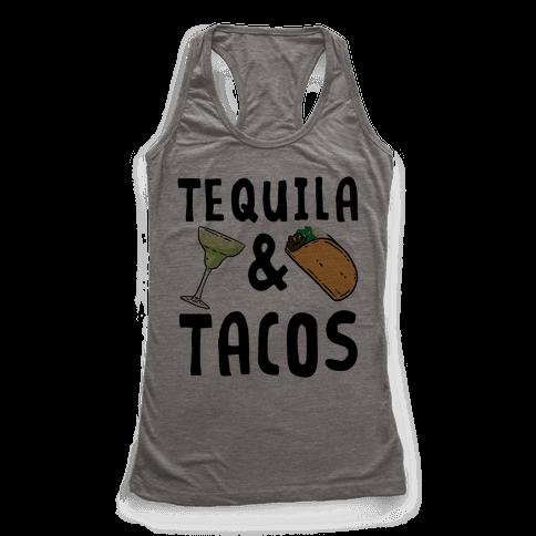 Tequila & Tacos Racerback Tank Top