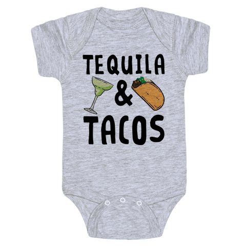 Tequila & Tacos Baby One-Piece