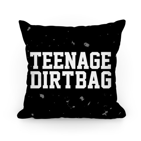 Teenage Dirtbag Pillow