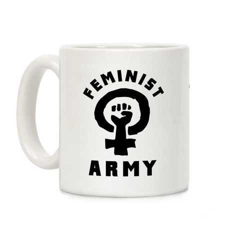 Feminist Army Coffee Mug