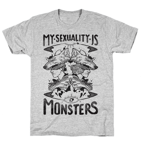 My Sexuality Is Monsters Mens T-Shirt