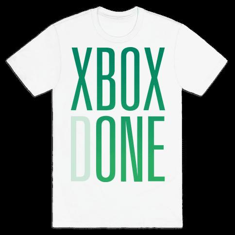 Xbox Done Mens T-Shirt