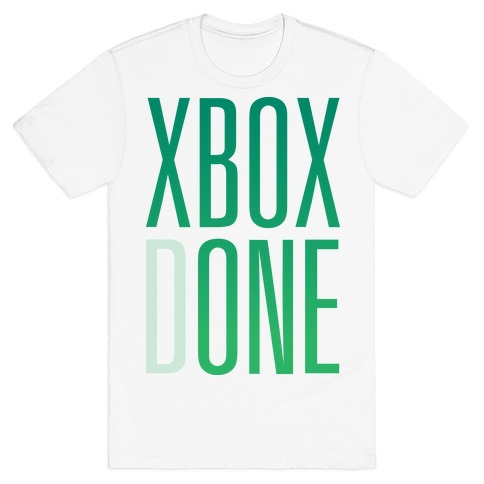Xbox Done Mens T-Shirt
