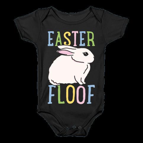 Easter Floof Baby Onesy