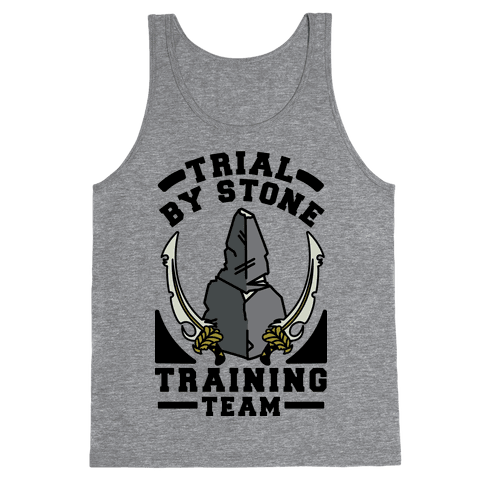 Trial by Stone Training Team Tank Top