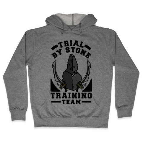 Trial by Stone Training Team Hooded Sweatshirt