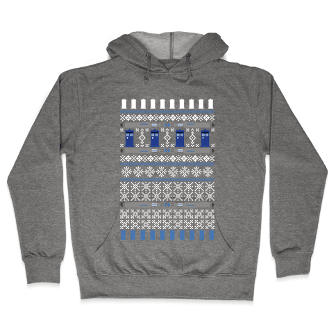 Merry Whomas Sweatshirt Hooded Sweatshirt