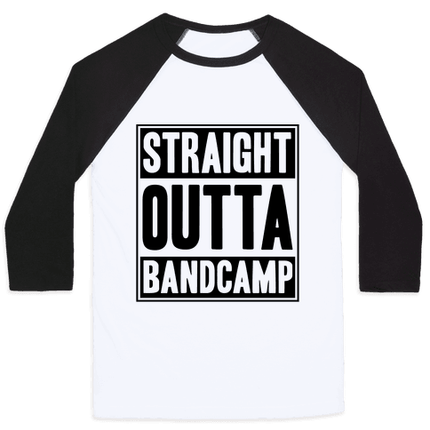 Straight Outta Band Camp Baseball Tee