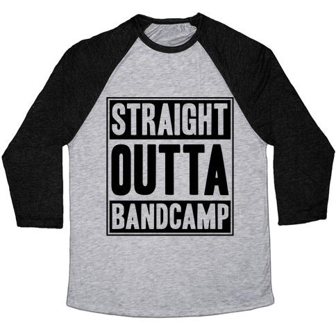 ec3d9cfe1 Straight Outta Band Camp Baseball Tee | LookHUMAN
