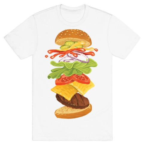 Anatomy Of A Burger T-Shirt