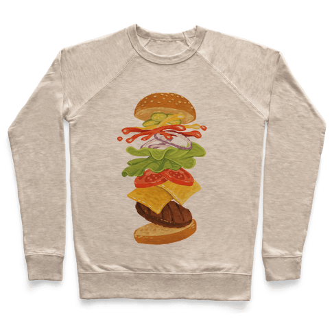 Anatomy Of A Burger Pullover