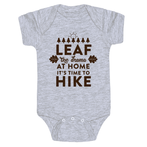 Leaf The Drama Baby Onesy